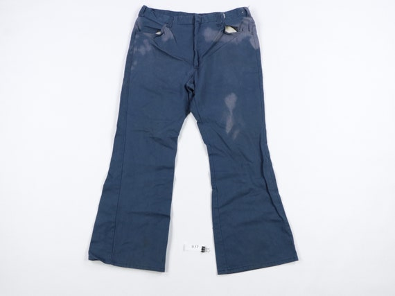 70s Dickies Sun Faded Flared Mechanic Work Pants B