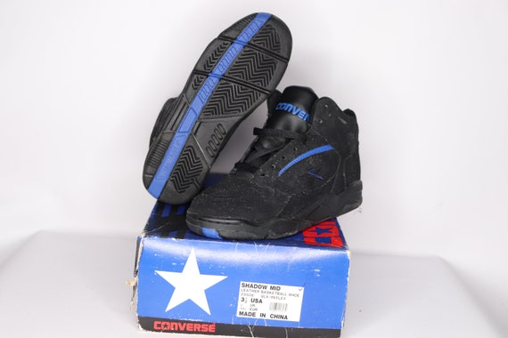 90s New Converse Shadow Mid Leather Basketball Sho