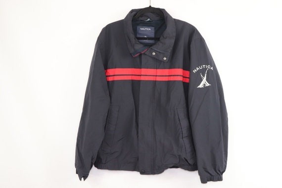 90s Nautica Spell Out Sailing Full Zip Outdoor Win
