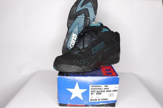 90s New Converse Cons Speedpull MId Basketball Sh… - image 2
