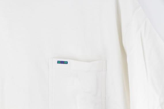 90s Rockabilly Blank Short Sleeve Pocket T-Shirt … - image 4