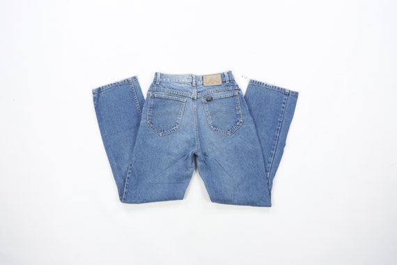 70s Lee MR Distressed Straight Leg Jeans USA Talo… - image 5
