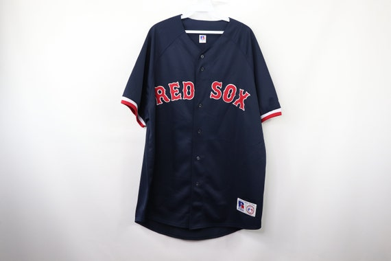 80s New Russell Athletic Boston Red Sox Baseball J