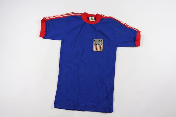 90s Youth XL Short Sleeve Team USA World Cup Socce