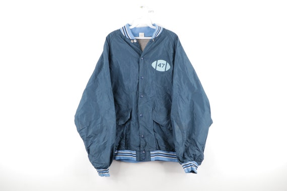 70s Russell Athletic Lined Football Coaches Jacket