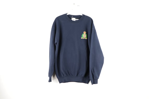 Royal blue sweatshirt Gem
