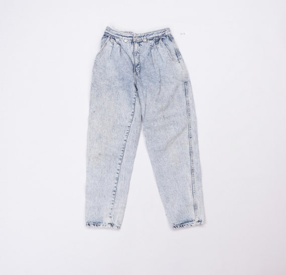 90s Streetwear Tapered Leg Suspender Rivet Acid Wa
