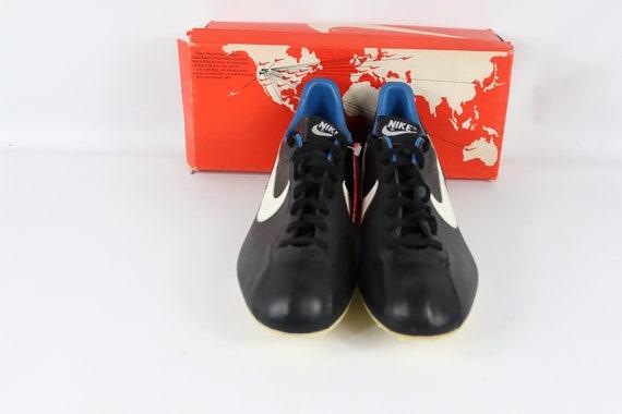 Schuhe80er Schuhe Nike vereint Schuhe Nike neue Nike80er schwarz Jahre weiße Leder Fußball Stollen Jahre 80er Herren80er Jahre Jahre Fußball XOTPkZiu