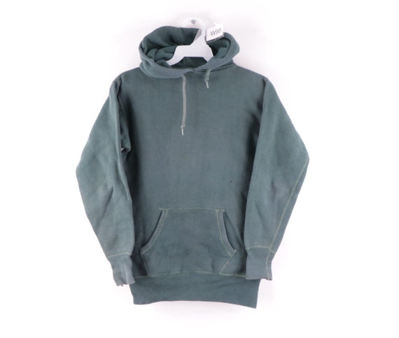 50s Hanes Wind Shield Faded Blank Hoodie Sweatshir