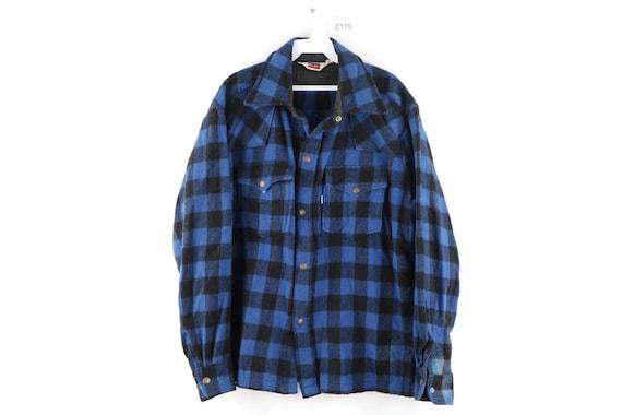 80s Levis Wool Double Pocket Rockabilly Shirt Jack