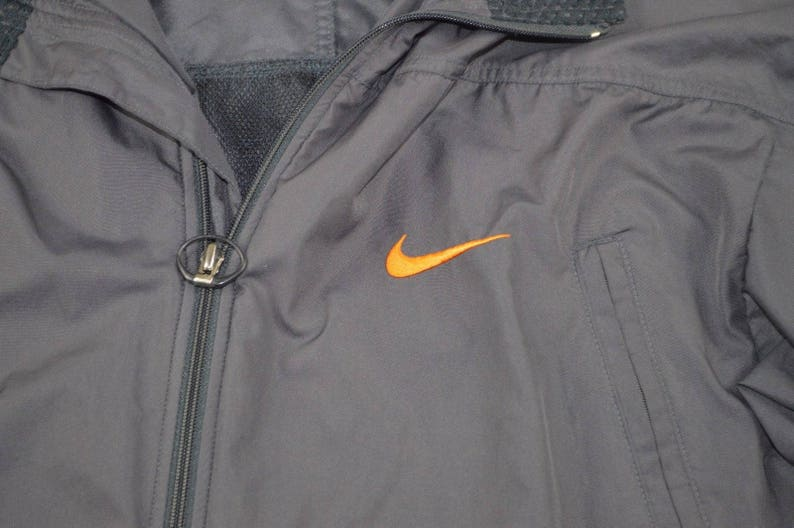 ad41df243 90s Nike Full Zip Outdoor Fall Windbreaker Jacket Mens Large | Etsy