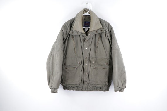 90s Streetwear Military Style Distressed Faded Bom