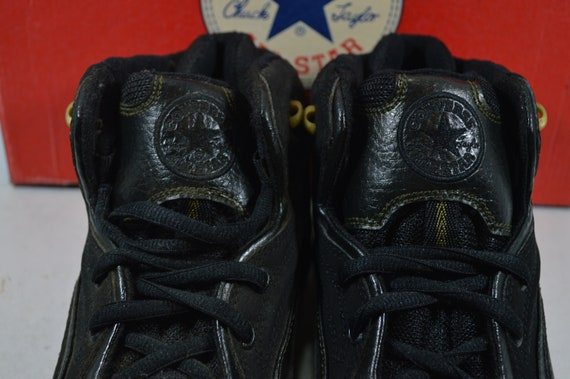 Vintage 90s New Converse All Star Recruit Mid Men… - image 3