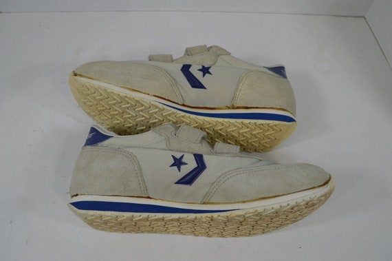 80s CONVERSE New Mens Size 7.5 Adjustable Strap S… - image 7