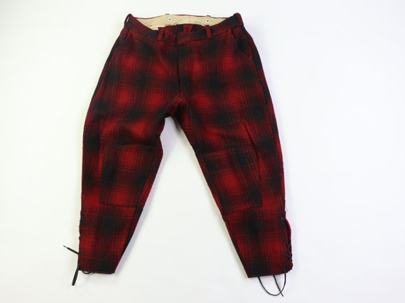 50s CC Filson Wool Hunting Knickers Pants Red Buff