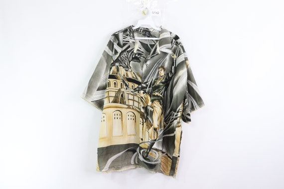 90s Japanese Anime All Over Print Short Sleeve But
