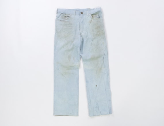 70s Lee MR Distressed Faded Bootcut Denim Jeans US