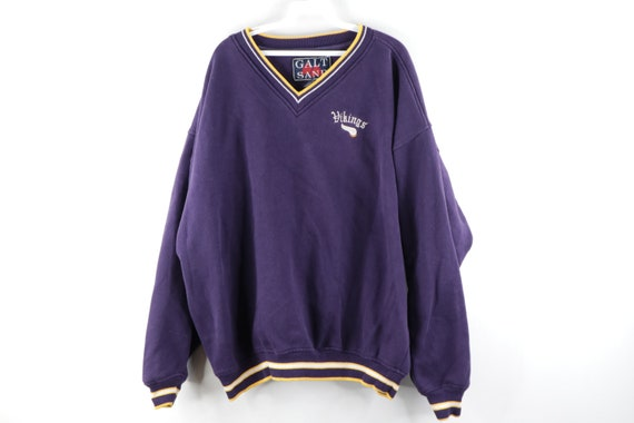 90s NFL Football Minnesota Vikings Stitched Sweats
