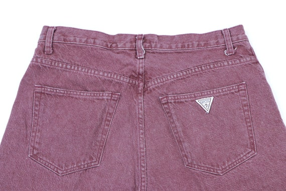 90s Guess Streetwear Spell Out Stone Wash Denim S… - image 6
