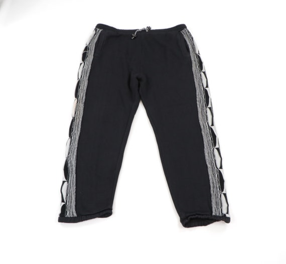 90s Streetwear Coogi Style Textured Joggers Jogger