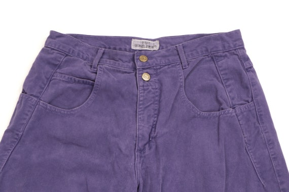 90s Guess Streetwear Spell Out Tapered Leg Jeans … - image 2