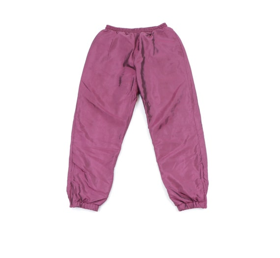 90 Streetwear Iridescent Blank Lined Jogger Sweatp