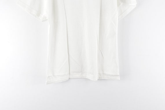 NOS 70s Land N Sea Short Sleeve Blank Rockabilly … - image 7