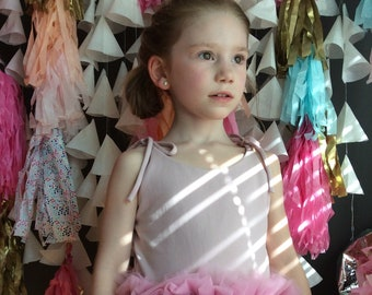 Mauve Tutu Dress