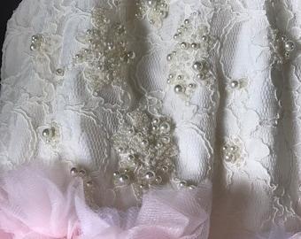 Pearly Blooms Tutu Dress