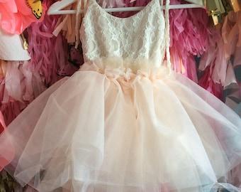 Lovely Lace Tutu dress