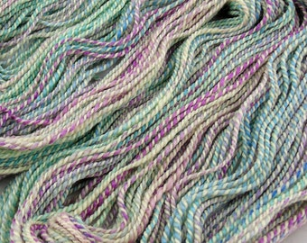 Hydrangea - Aran weight hand spun yarn - 100% BFL