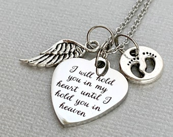 Memorial necklace \u2022 infant loss \u2022 miscarriage necklace \u2022 infant funeral gift \u2022 Sympathy gift \u2022 loss of baby memorial gift \u2022 born to fly