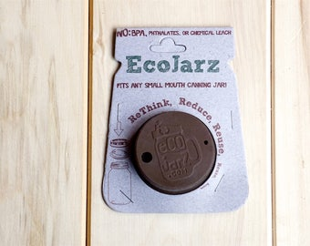 EcoJarz Small Mouth Jar Drinking Lid