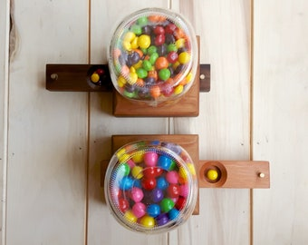 Birch & Oak Mason Jar Candy Dispenser