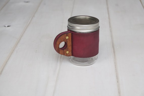The Sprig Mug in Peony Pink & Rosewood