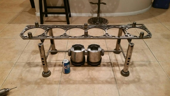 Upcycled Diesel Engine Coffee Table Etsy