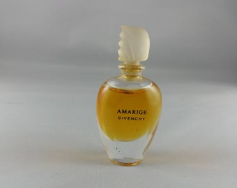 9949bd4fff Amarige Givenchy Eau de Toilette Perfume Miniature Parfum Profumo Mini  Mignon 4 ml 0.13oz 1991 collectible bottle Full women perfume