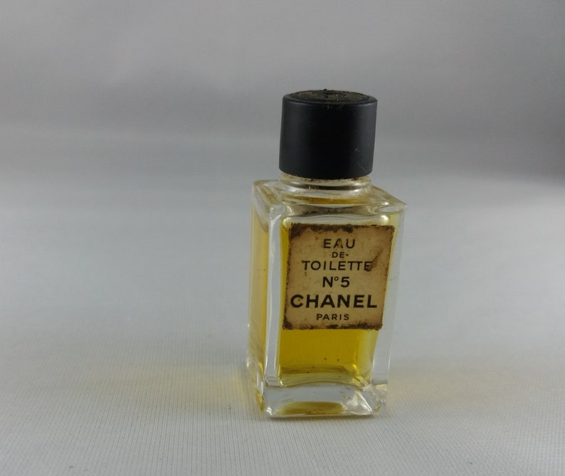 Chanel 5 Eau De Toilette Perfume Miniature Parfum Profumo Mini Etsy