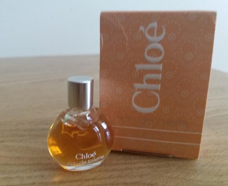 Vintage 1980s Chloe By Karl Lagerfeld Perfume Parfum Miniature Etsy