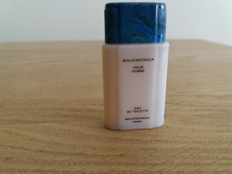 pas cher pour réduction 17f17 2450f Vintage Miniature Mini Perfume Parfum BALENCIAGA pour homme EDT PARIS  Classic 13fl / 4ml Eau de Toilette 1990 Full men perfume