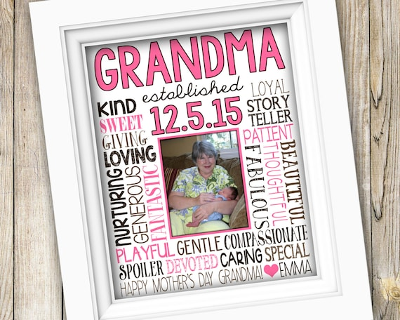 Birthday Gift For Grandma First Time From