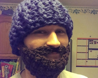 98de9709919 crochet hat and beard
