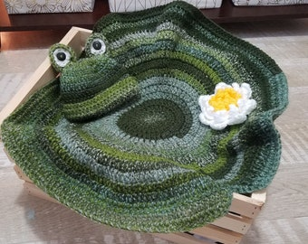 cfbdaceac Lily pad hat   Etsy