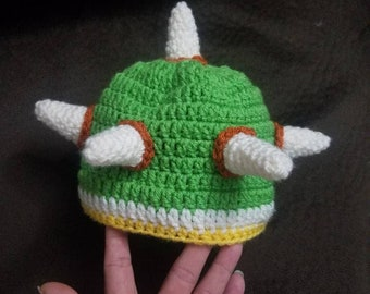 46779129b03 crochet bowser hat
