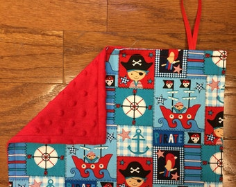 Pirate Pacifier Blanket