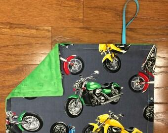 Motorcycles Pacifier Blanket