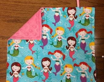 Mermaid Pacifier Blanket
