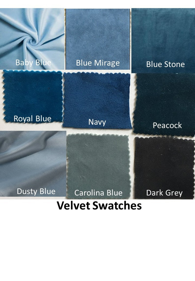 Velvet Fabric by the Yard Extra Wide Velvet Curtain Fabric 110 wide.