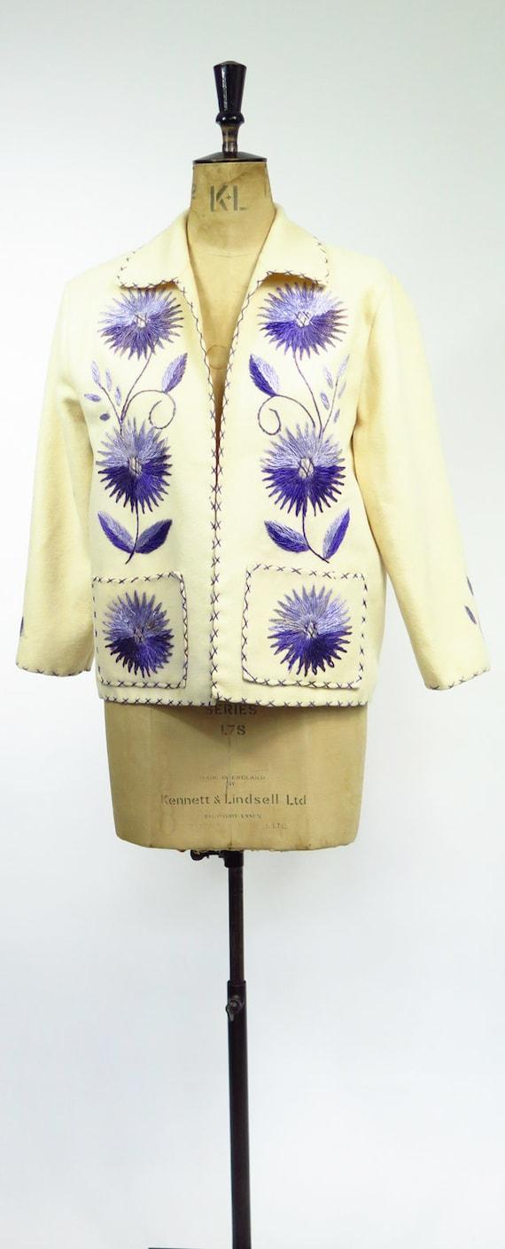 Original Vintage 1950s Mexican Souvenir Jacket - image 2