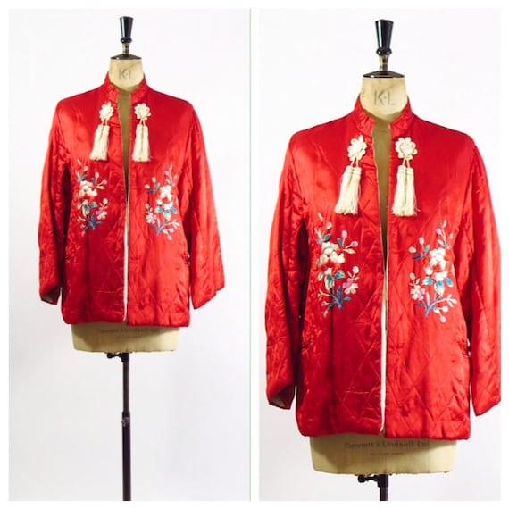 1950s Souvenir Bed Jacket